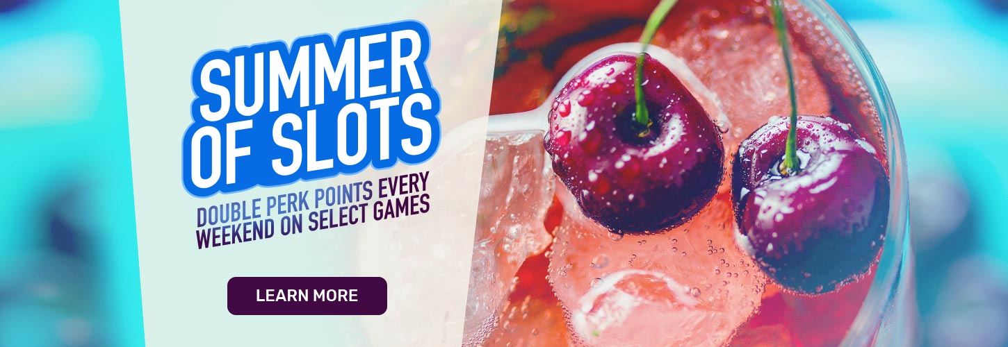 It's the Summer of Slots at Cafe Casino
