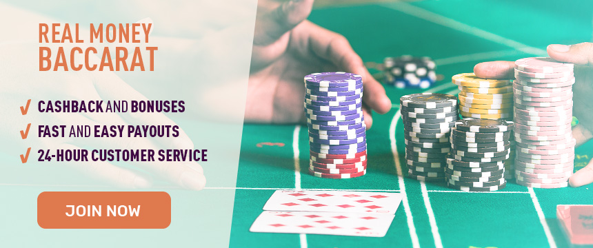 Play Online Baccarat for Real Money at Cafe Casino