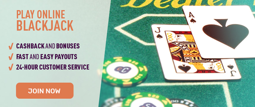 Play Online Blackjack for Real Money at Cafe Casino