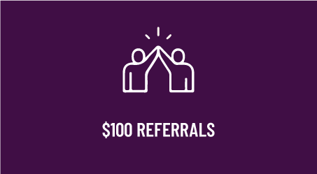 $100 Referrals